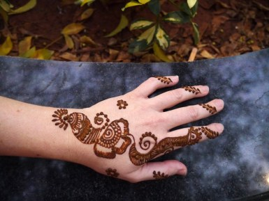Henna - my favorite.